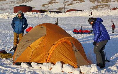 Accommodation at Constable Point is in expedition tents. This allows you to get used to the tents youu0027ll be using and c&ing in arctic conditions ... & Greenland Base | Greenland Expeditions
