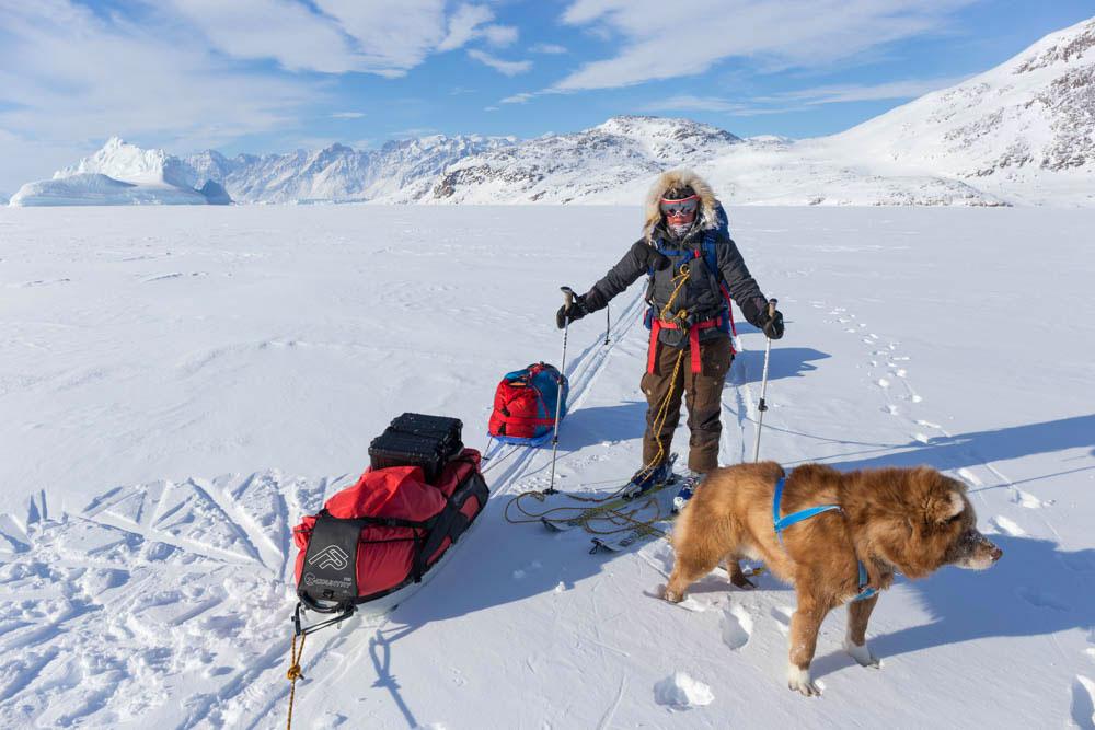 Pulk Pulling Greenland