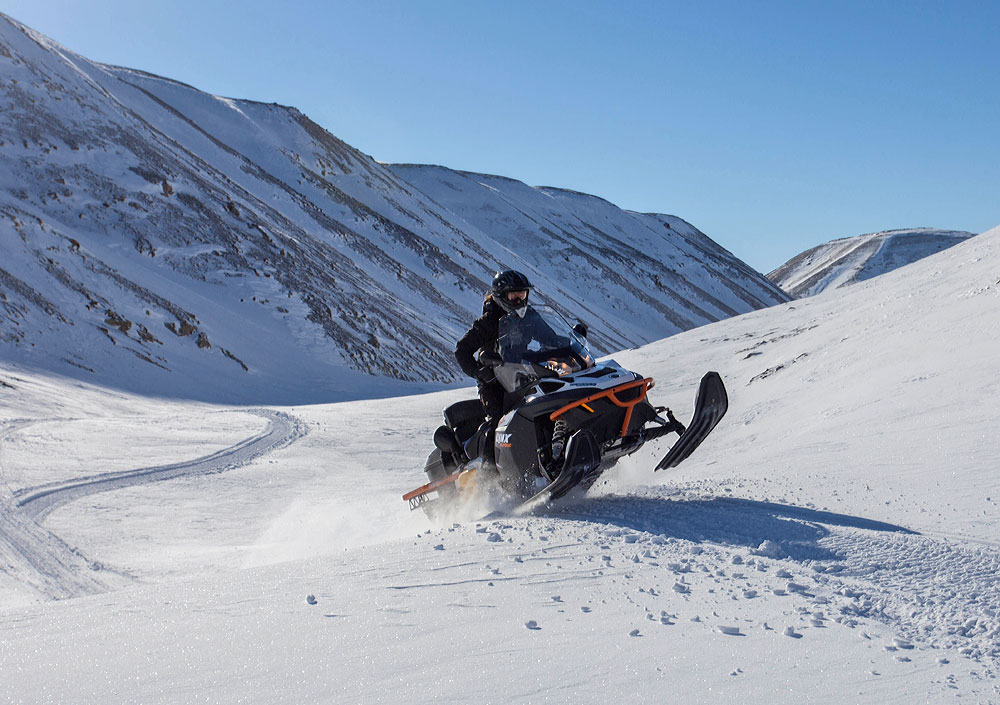 Tangent Expeditions Snowmobile Driving