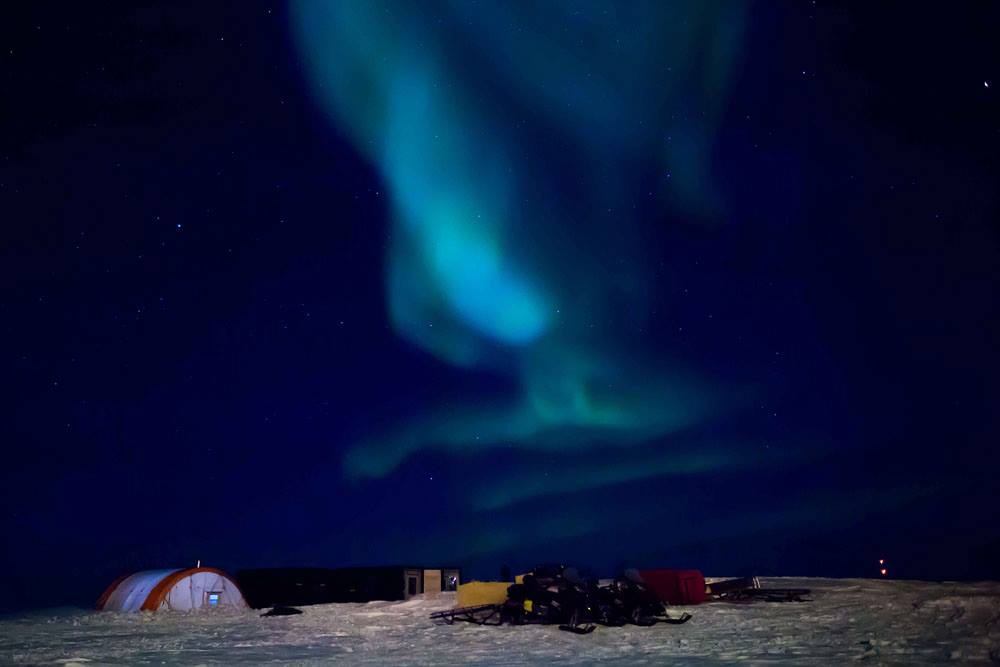 Northern Lights at Constable Point